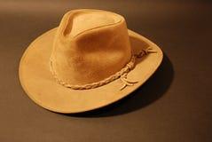 brązowy kowbojski kapelusz Obraz Royalty Free