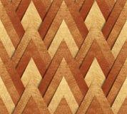 Brązowy kruszcowy bezszwowy wzór Fotografia Stock