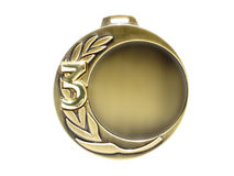 brązowy medal Obrazy Royalty Free