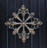 brązowy ornament Fotografia Royalty Free