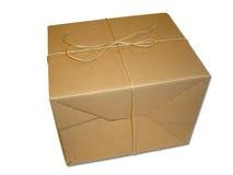 brązowy pakiet Fotografia Stock