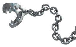 Braçadeira Chain das maxilas Imagem de Stock