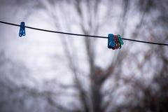 Braçadeira da lavanderia Fotografia de Stock