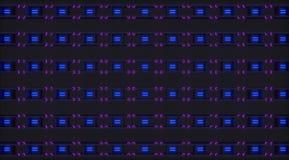 Braçadeiras 3d abstratas Imagens de Stock