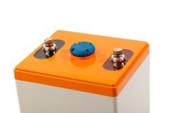 Braçadeiras da bateria acidificada ao chumbo industrial fotos de stock