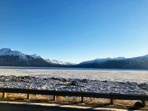 Braço congelado da volta de Alaska outra vez fotos de stock royalty free