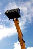 Braço da máquina escavadora Imagens de Stock