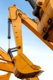 braço do backhoe Imagem de Stock Royalty Free