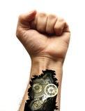 Braço do Cyborg Imagens de Stock