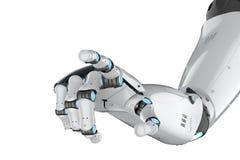 Braço do Cyborg isolado ilustração do vetor