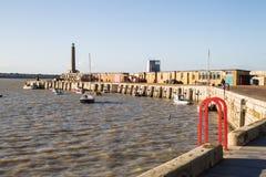 Braço do porto de Margate imagens de stock royalty free