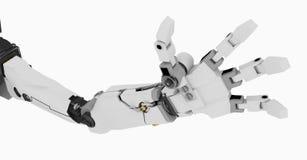 Braço magro do robô ilustração stock