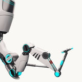 Braço robótico de Sci fi Fotos de Stock Royalty Free