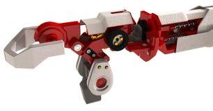 Braço robótico pesado Fotografia de Stock Royalty Free