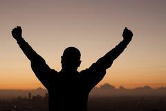 Braços da vitória foto de stock royalty free
