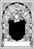 Braços Knightly Imagens de Stock Royalty Free