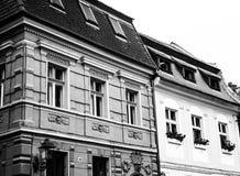 BraÈ™ov -建筑学 库存图片