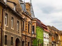 Brașov - Architecture. Brașovis a city in Romania and the administrative centre of Brașov County. According to the last Romanian census, from 2011, there were Royalty Free Stock Photo