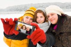 Brać jaźń portrety fotografia stock
