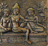Trzy Bali kobiety Obrazy Stock