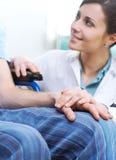Brać opiekę pacjent zdjęcie royalty free