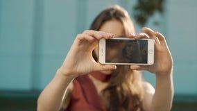 Brać selfie smartphone zbiory