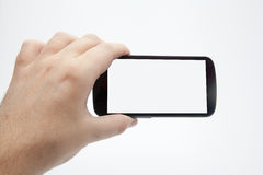 Brać smartphone fotografie Obraz Royalty Free