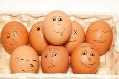 Bra ägg Arkivfoto