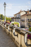 Bra (Cuneo): old city view. Color image Royalty Free Stock Images