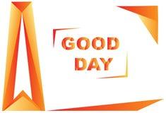 Bra dag för designtriangel Royaltyfria Bilder