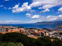Bra dag i Sicilien Arkivbilder