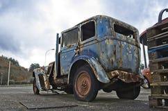 Bra gammal bil av minen royaltyfri fotografi