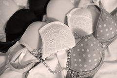 Bra in line Royalty Free Stock Photos