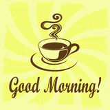 Bra morgon! Royaltyfria Bilder