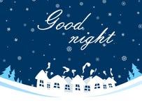 Bra natt Arkivbilder