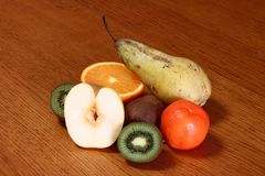 Bra ny blandad frukt arkivbild