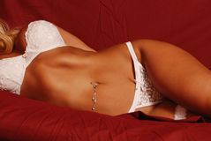 Bra,panties and garter Stock Photo