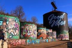 Bra Vibes Asheville North Carolina Royaltyfri Foto