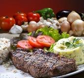 Braadstukrundvlees stock afbeeldingen