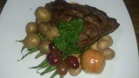 Braadstukrundvlees Stock Foto's