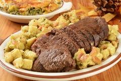Braadstukrundvlees met het vullen Stock Afbeeldingen