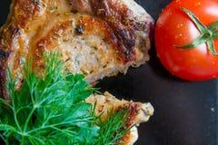 Braadstukvarkensvlees royalty-vrije stock foto's