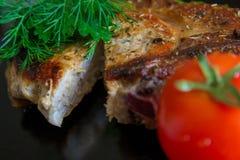 Braadstukvarkensvlees stock fotografie