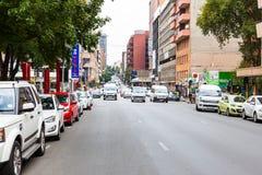 Braamfontein nella città di Johannesburg Fotografia Stock Libera da Diritti