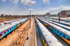Braamfontein Railway Yards, Johannesburg Royalty Free Stock Photos