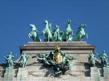 Brabant z cztery koniami zdjęcia stock