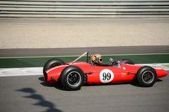 1963年Brabham BT4惯例塔斯曼汽车 免版税库存照片