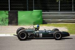 1964年Brabham BT19惯例塔斯曼汽车 库存照片
