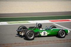 1964年Brabham BT11惯例1汽车 图库摄影