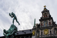 Brabos staty Royaltyfri Bild